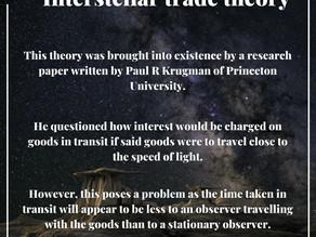 Interstellar Trade Theory