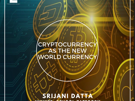 Cryptocurrency As The New World Currency