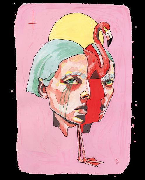 flamingo gal