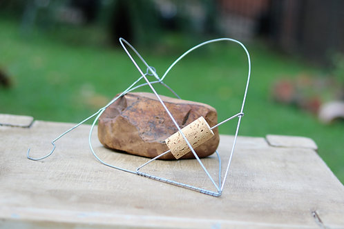 3D Heart Wire Hanger
