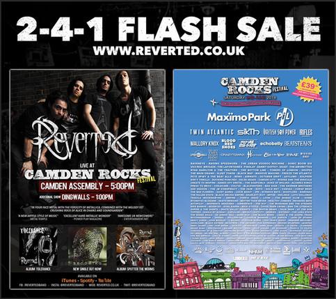 Flash Sale: Camden Rocks