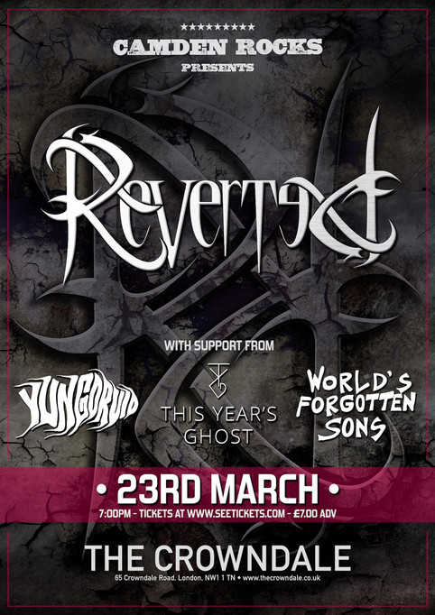 Live in London headlining on 23rd March!