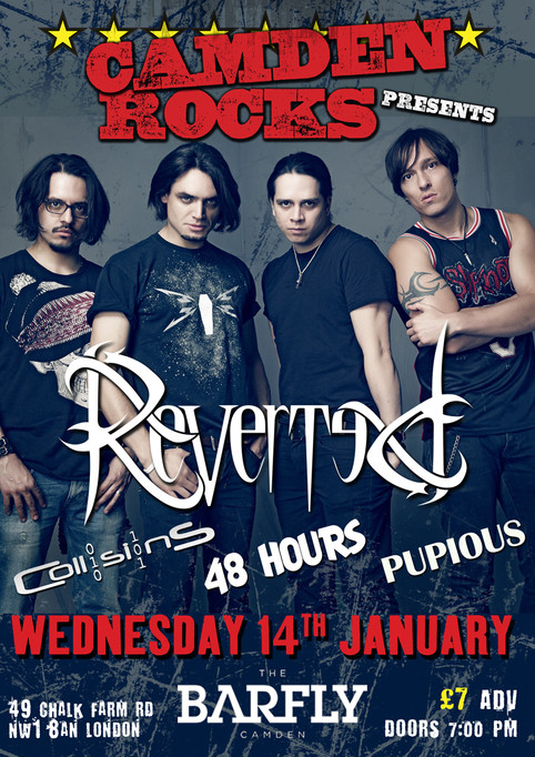 Live in London tonight! 14th January