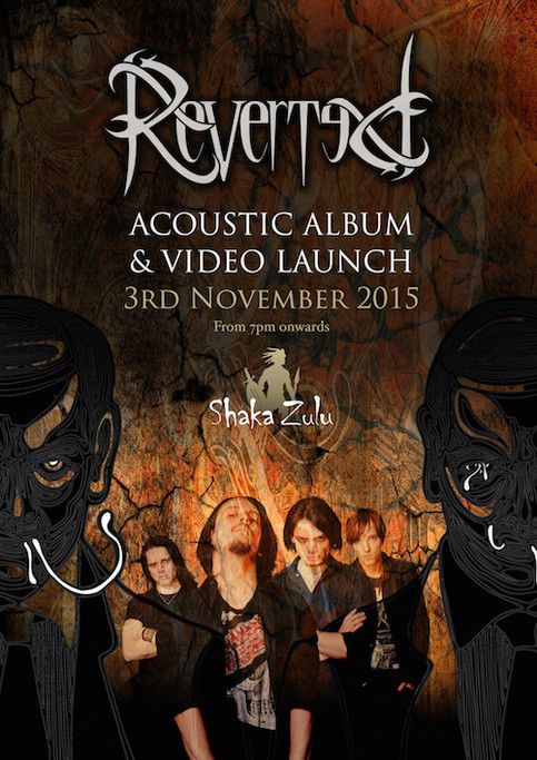 Reverted ALBUM & VIDEO LAUNCH PARTY, YOU'RE INVITED!