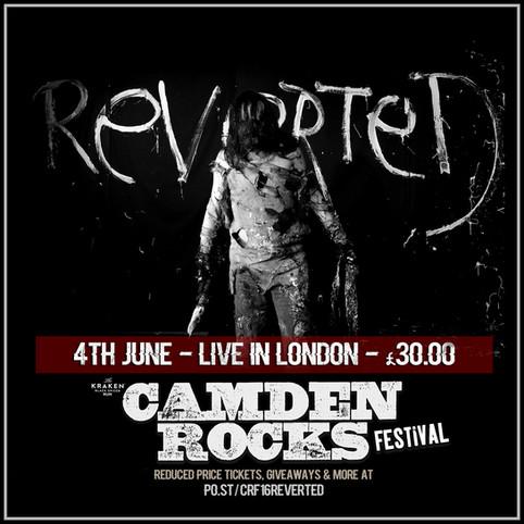 Cheap £30 Camden Rocks Festival tickets ON SALE NOW!