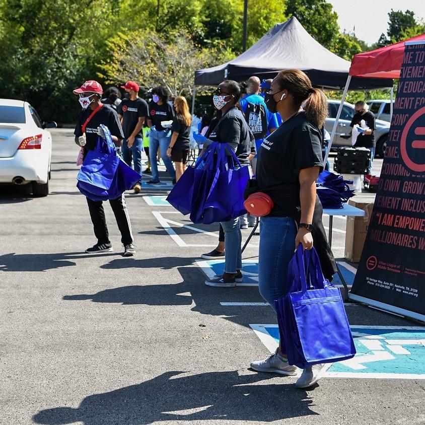 Meals & Masks: Bag Distribution Volunteer
