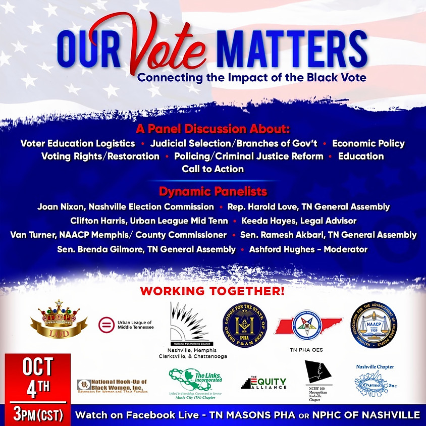Our Vote Matters: Connecting the Impact of the Black Vote