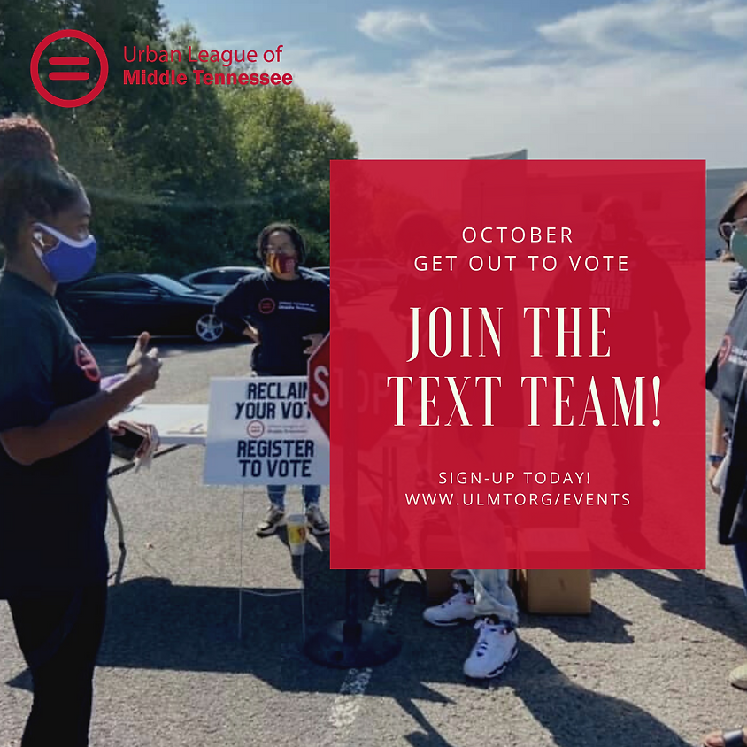 Get Out To Vote Text Team (Virtual)