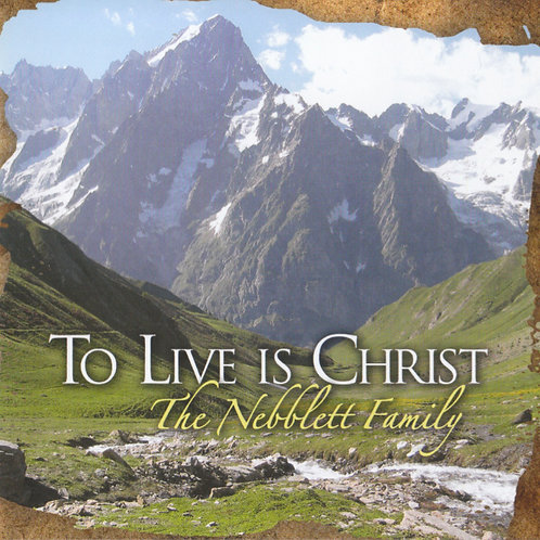 To Live Is Christ (CD)