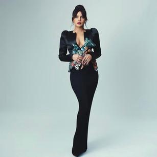 Priyanka Chopra - Assisting Law Roach for the BAFTA's