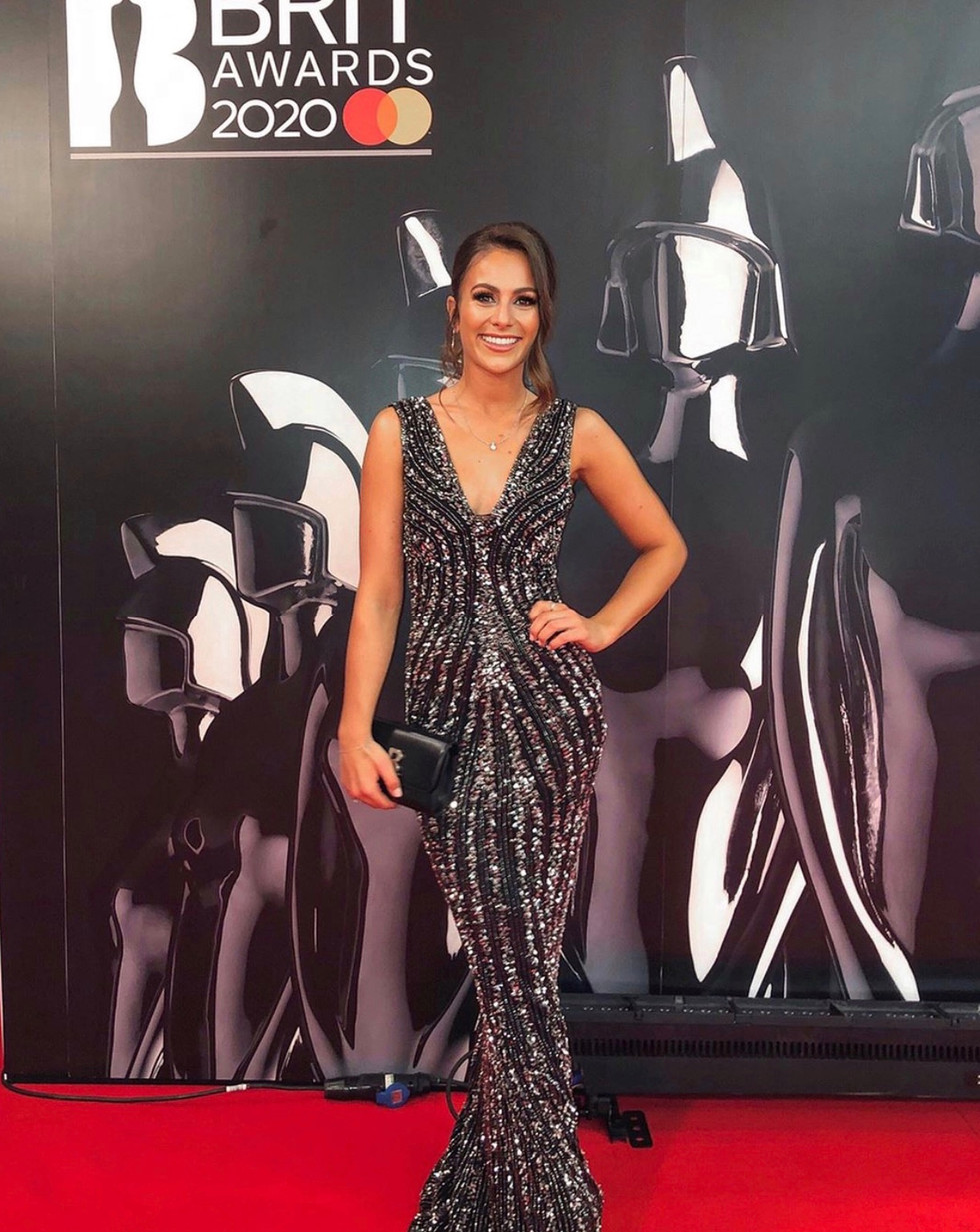 Steph Elswood for the BRITS