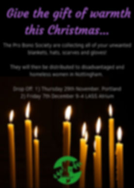 Give the gift of warmth this Christmas..
