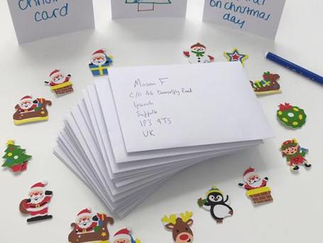 Christmas cards for a local hospital