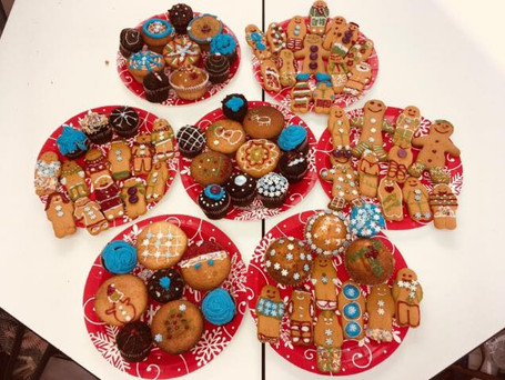 Cakes for a local centre decorated by our volunteers