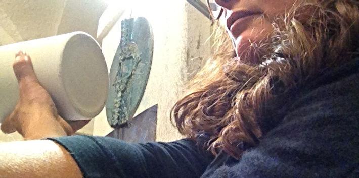 Nadia Formiconi Ceramista bottega artigianato artistico Orvieto CeramicarteOrvieto