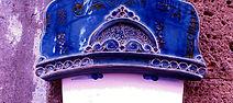 donna con cappello, maiolica e legno CeramicarteOrvieto bottega artigianato artistico Orvieto