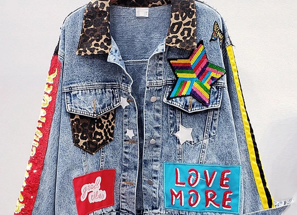 More is Enough Denim Jacket