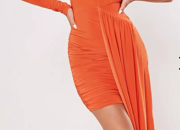 Orange Peel Dress