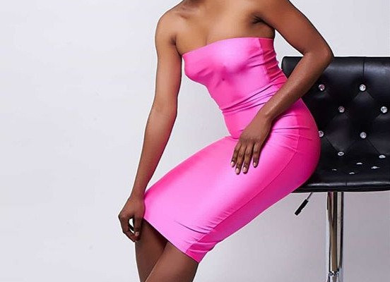Highlighter Pink Pencil Dress