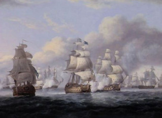 Admiral Cornwallis's retreat