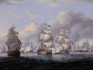 Admiral Cornwallis's retreat