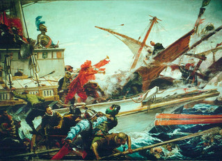 The Galleys' Last Hurrah - The Battle of Lepanto