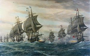 """Oh God, it's all over!"" - the Naval Battle that cost an Empire"