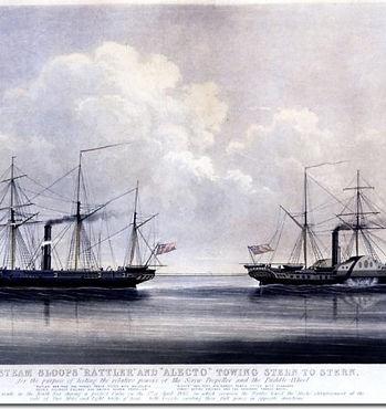 hms rattler vs HMS Alecto.jpg