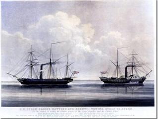 A Tug-of-War, Naval style – HMS Rattler vs HMS Alecto