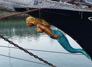 Why did ships have figureheads?