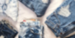 Customizable denim jeans