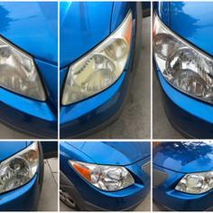 Pontiac - Headlight Restoration