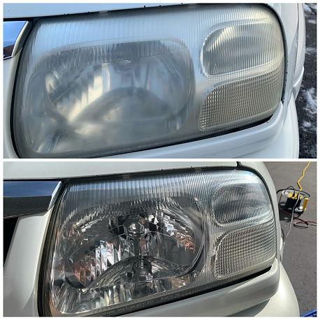 Pikes Peak Auto Detail - Headlight Restoration (Before/After)