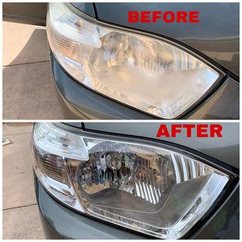 Pikes Peak Auto Detail - Headlight Restoration