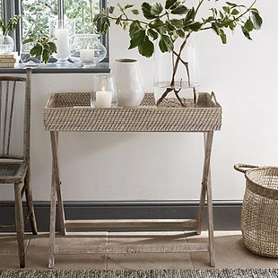 the white company whitewashed rattan but