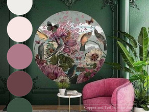 Classic colours - modern look