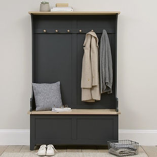 cotswold company Chester Charcoal Hallway Tidy (2).jpg