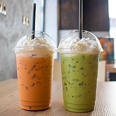Молочный тайский чай, Молочный тайский зелёный чай