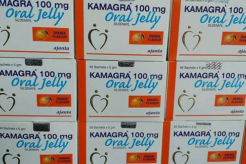 Kamagra Oral Jelly (100mg) - 50 Pack 350 jellys