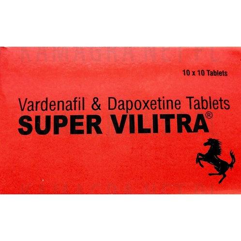 Super Vilitra Vardenafil + Dapoxetine