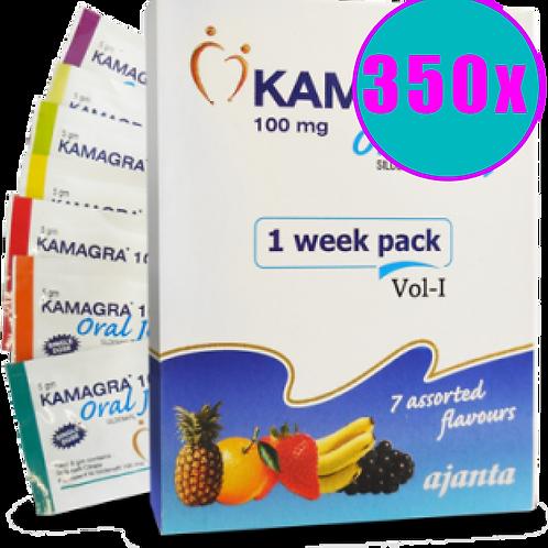 Kamagra Oral Jelly (100mg) - 50 ΣΥΣΚΕΥΑΣΙΕΣ 350 ΖΕΛΕΔΑΚΙΑ