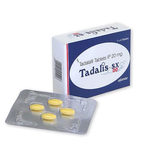 Tadalis sx 20 mg Ab 12 Tabletten