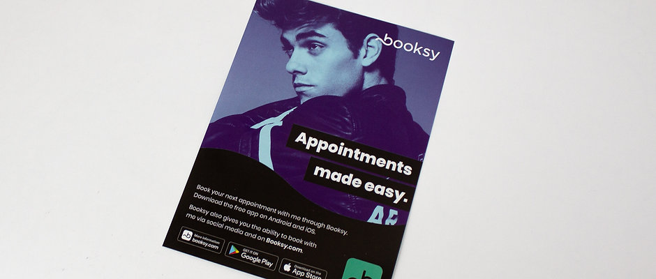 Barber Client Flyer