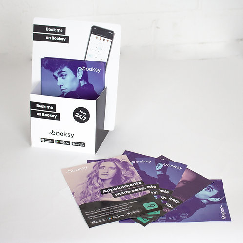 Flyer Stand and Beauty Flyer Bundle