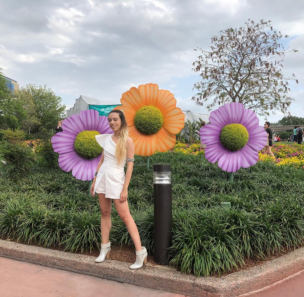 Katrina-Belle-Beauty-Disney-Blogger-Epcot-Flower-and-Garden-Festival-Orlando-Blogger-Katrina-Belle-Disney-Style