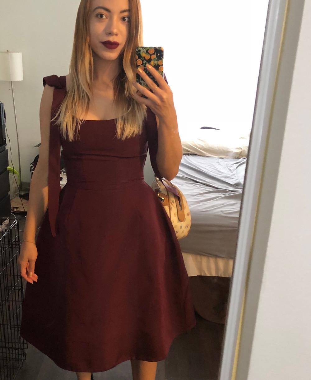 Katrina-Belle-Orlando-Blogger-Christian Siriano-Dress