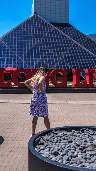 Trip to Cleveland: Rock Hall of Fame and Family Wedding