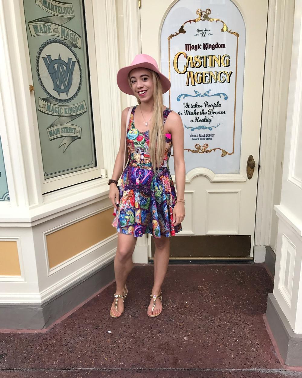 Katrina Belle Beauty - Disney blogger -Katrina Belle - Disney's Magic Kingdom - Disney bloggers - Orlando fashion blogger -Orlando blogger