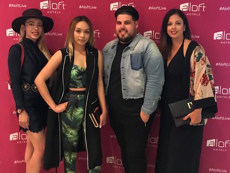 Orlando Fashion Bloggers at HERstory Fashion Show at Aloft