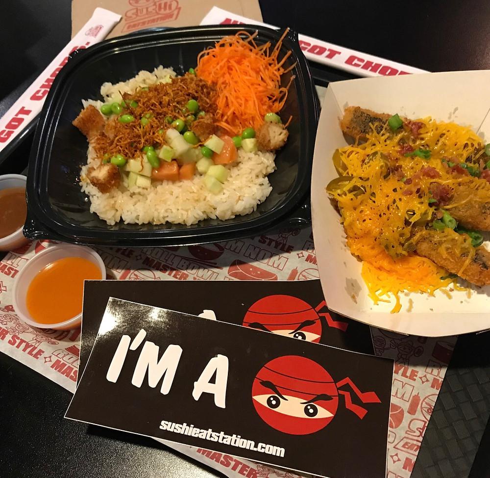 Sushi Eatstation - Orlando food - Orlando food blogger - Katrina Belle Beauty